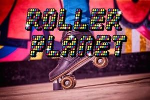 Roller Planet, de rolschaatsbaan bij Jimmy's Speelparadijs.