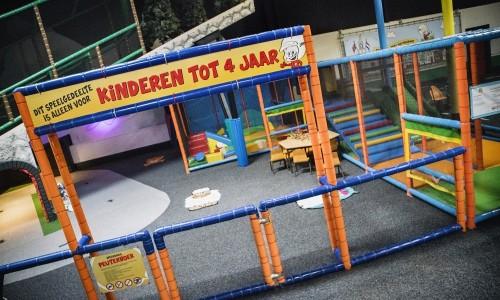 Peuterhoek van Jimmy's Speelparadijs waar de jongste kinderen kunnen spelen